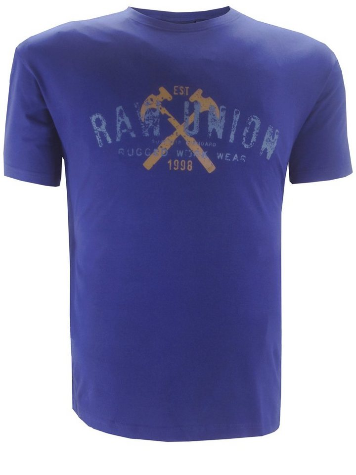 replika T-Shirt in Blau