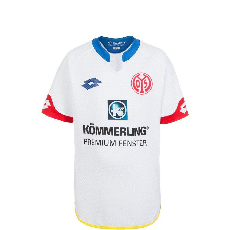 LOTTO FSV Mainz 05 Trikot Away 2015/2016 Kinder in weiß / blau