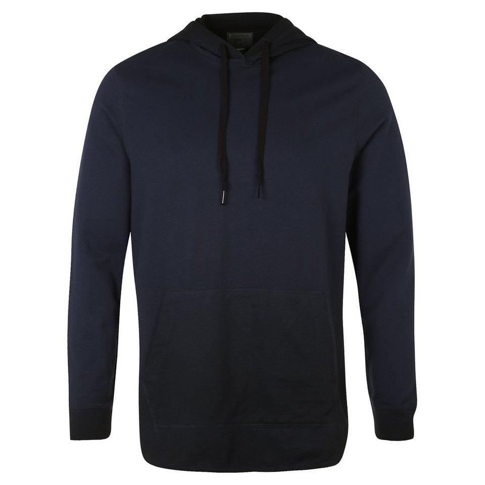 CONVERSE Black Wash Popover Vintage Kapuzenpullover Herren in dunkelblau / schwarz