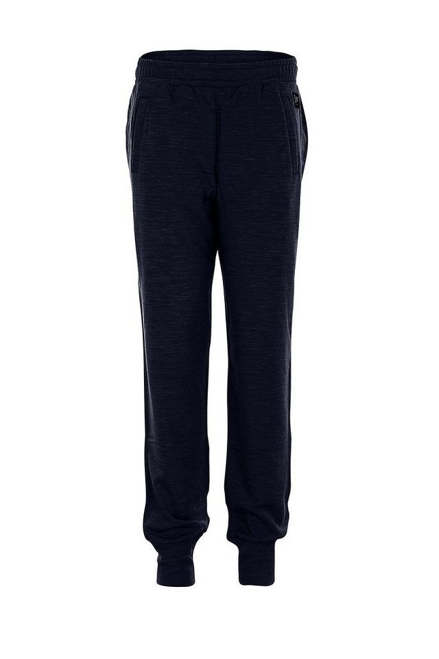 Super.Natural Merino Jogginghose »W RELAX CUFF PANT« in OCEAN DEEP