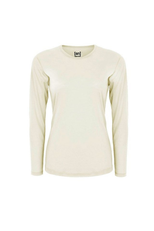 Super.Natural Merino Longsleeve »W BASE LS 230« in LATTE