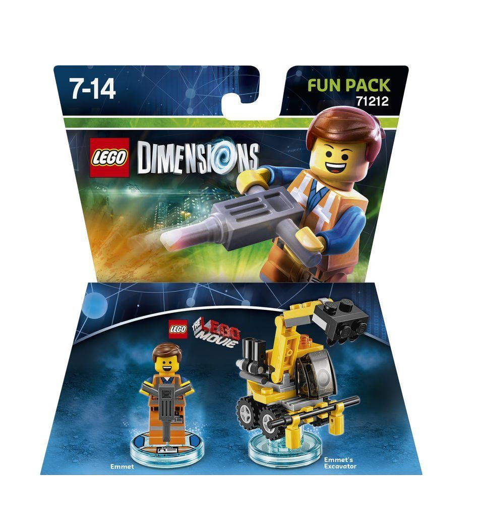 Warner Games Fanartikel »Lego Dimensions Fun Pack LegoMovie Emmet«