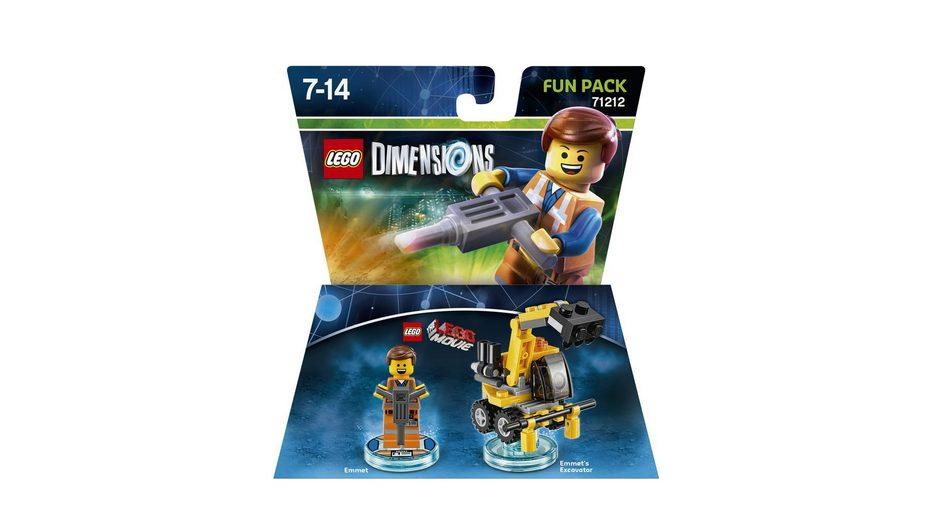 Warner Games Fanartikel »Lego Dimensions Fun Pack LegoMovie Emmet«