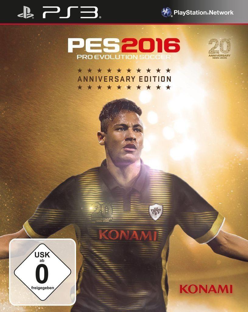 Konami Playstation 3 - Spiel »PES 2016 Anniversary Edition«