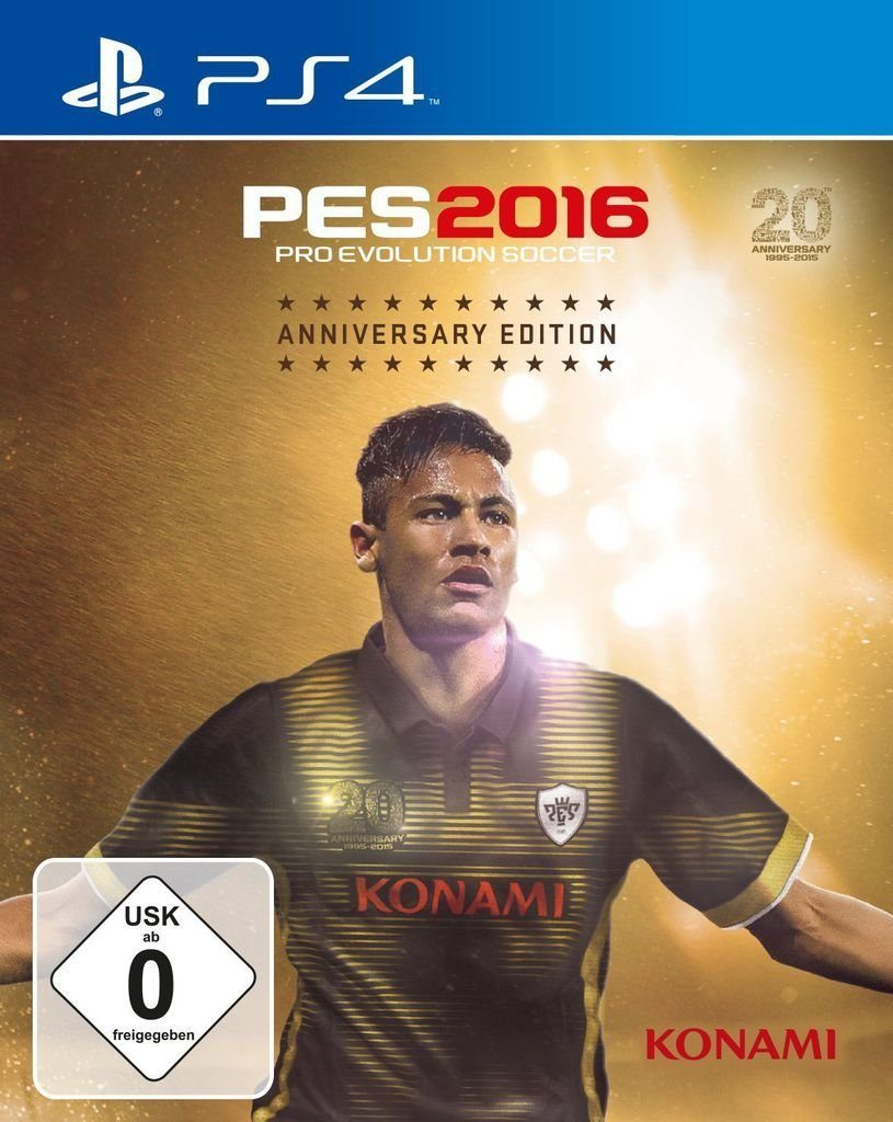 Konami Playstation 4 - Spiel »PES 2016 Anniversary Edition«