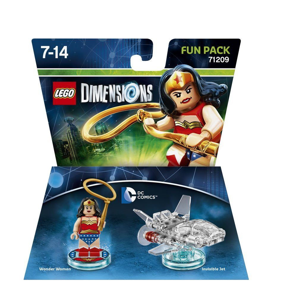 Warner Games Fanartikel »Lego Dimensions Fun Pack DC Wonder Woman«