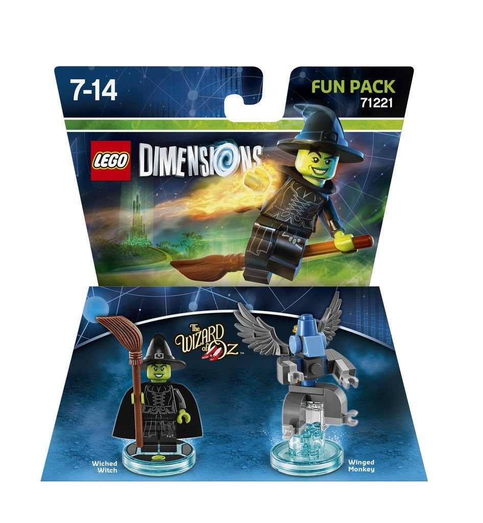 Warner Games Fanartikel »Lego Dimensions Fun Pack WOZ Wicked Witch«