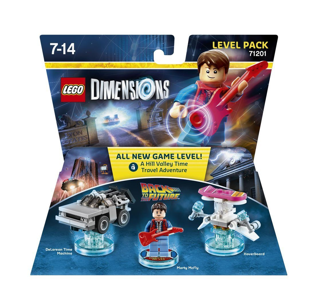 Warner Games Fanartikel »Lego Dimensions Level Pack - Back to the Future«