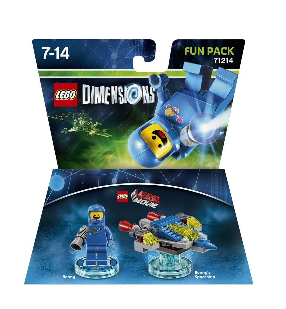 Warner Games Fanartikel »Lego Dimensions Fun Pack LegoMovie Benny«