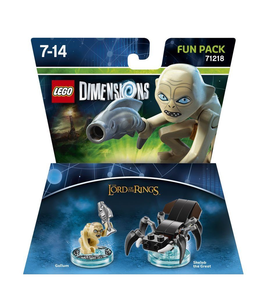 Warner Games Fanartikel »Lego Dimensions Fun Pack LOTR Gollum«