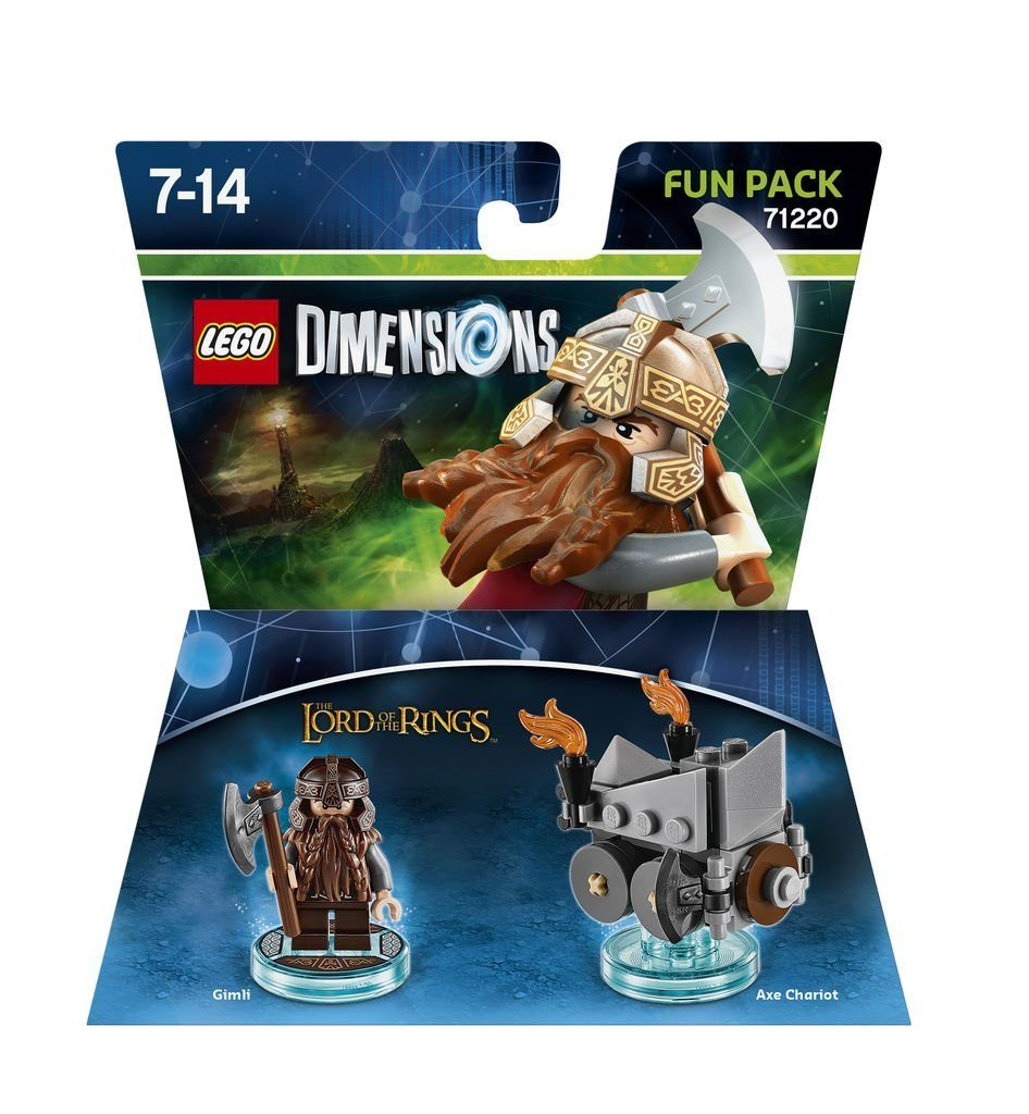 Warner Games Fanartikel »Lego Dimensions Fun Pack LOTR Gimli«