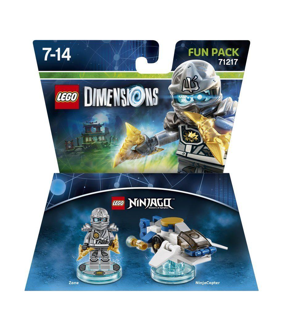 Warner Games Fanartikel »Lego Dimensions Fun Pack Ninjago Zane«