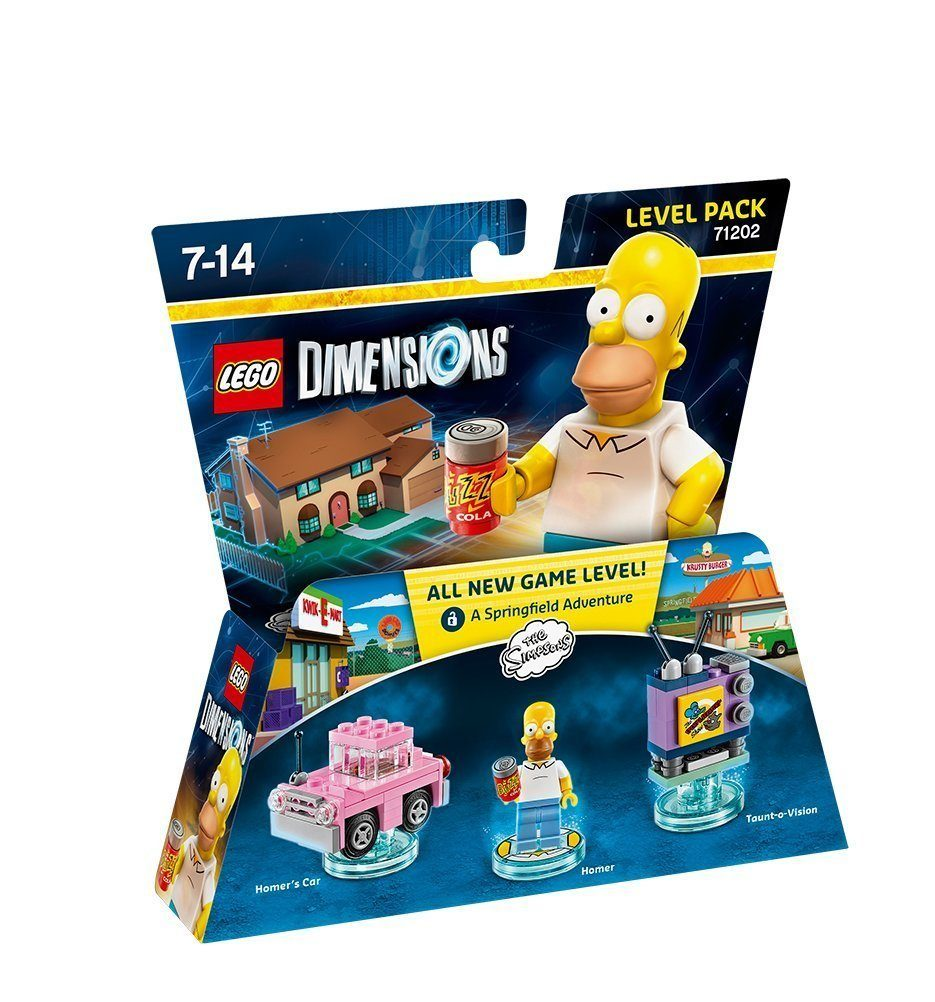 Warner Games Fanartikel »Lego Dimensions Level Pack - Simpsons«