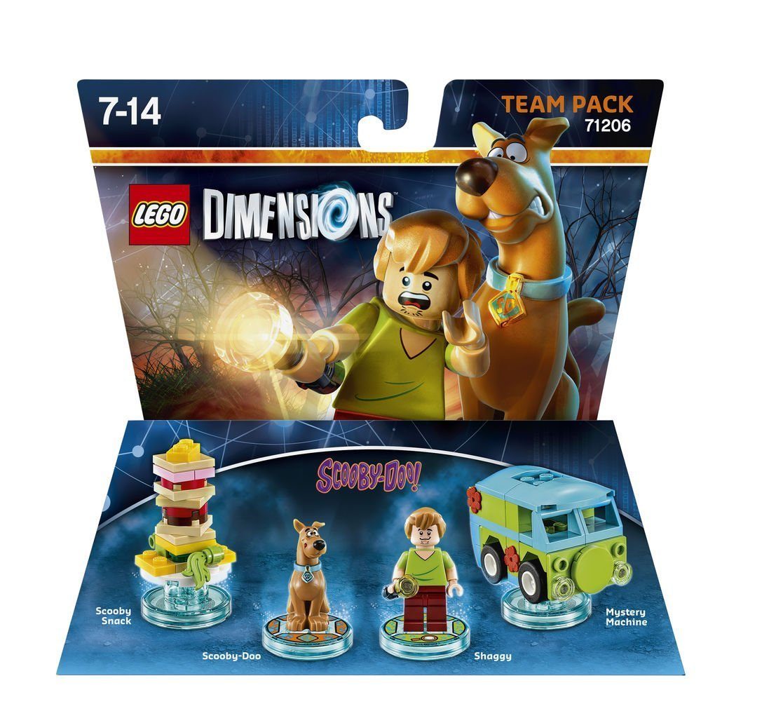 Warner Games Fanartikel »Lego Dimensions Team Pack - Scooby Doo«