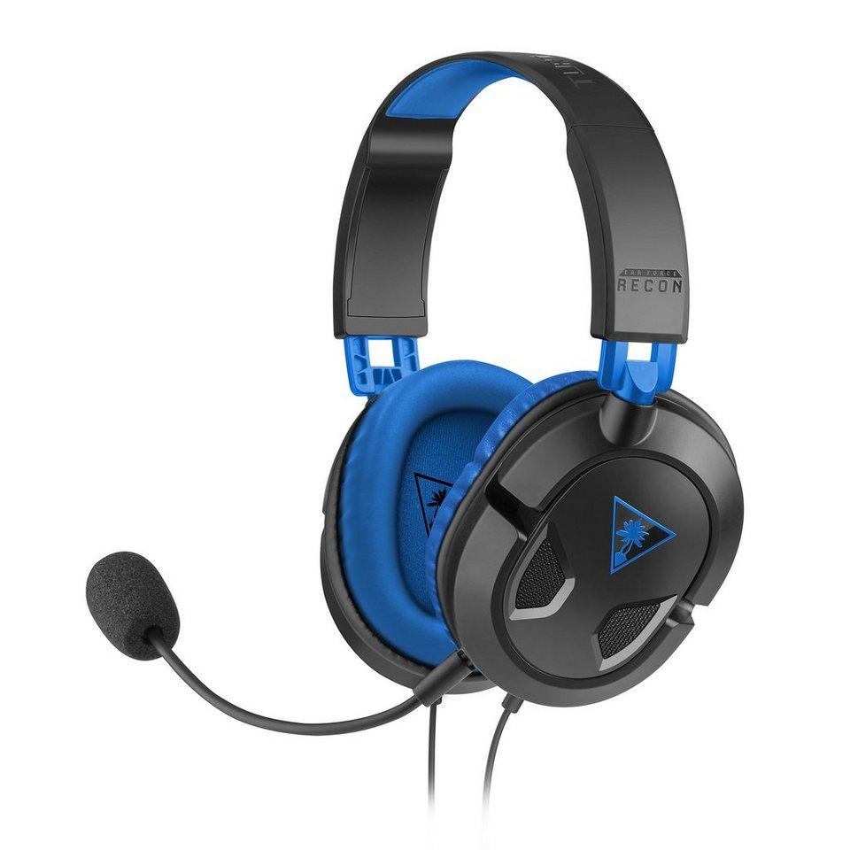 Turtle-Beach Kabelgebundenes Gaming-Headset »Ear Force Recon 60P schwarz«