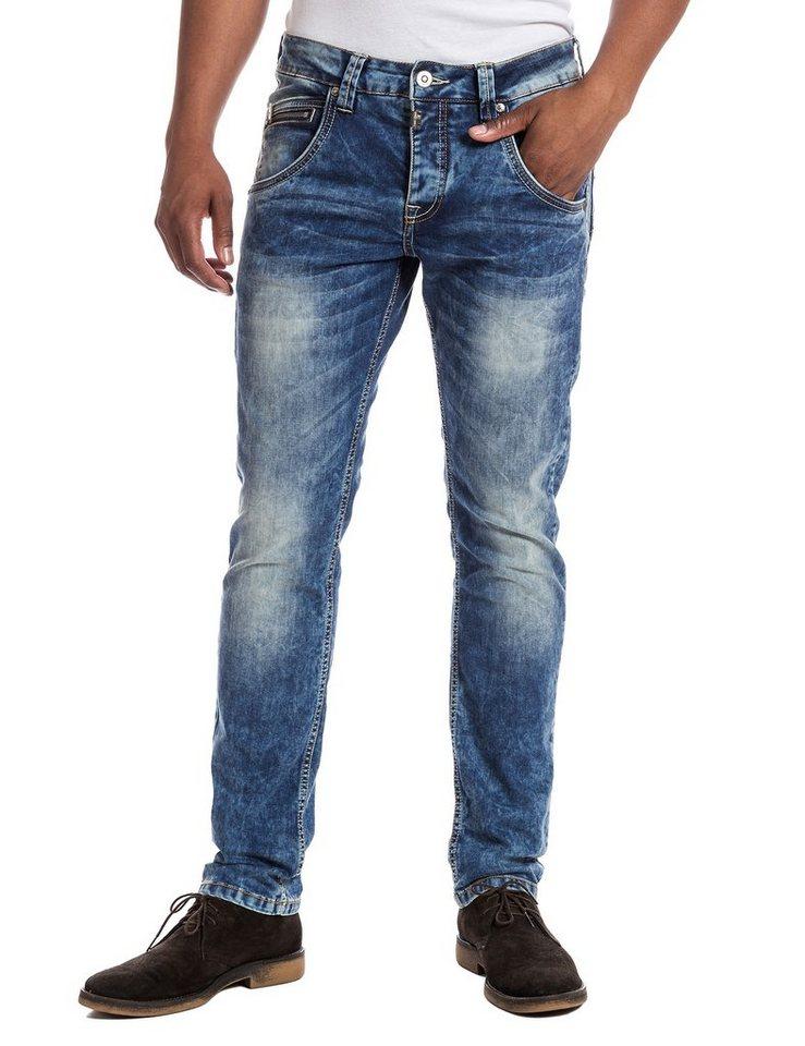 "TIMEZONE Jeans »HaroldTZ ""3819 middle blue wash""« in middle blue wash"