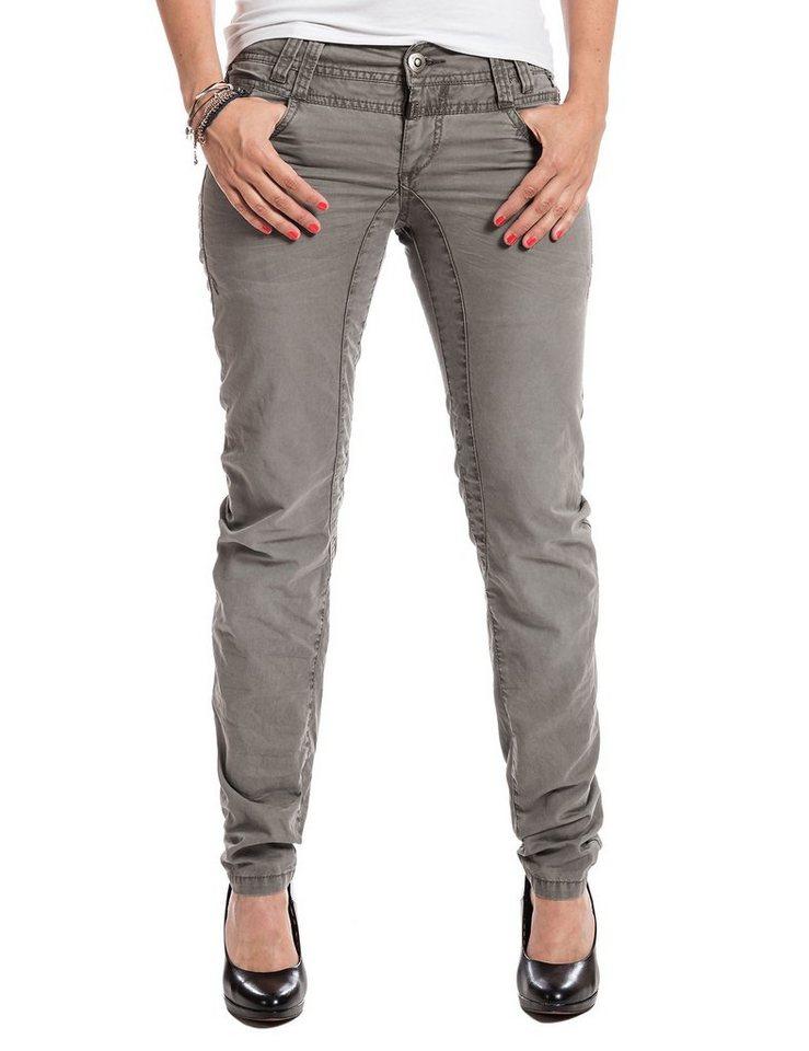 TIMEZONE Hosen lang »FrankaTZ 3D comfort pants« in dusty olive