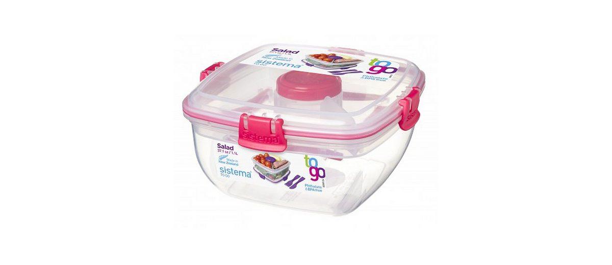 sistema sistema Salatbox To Go, pink