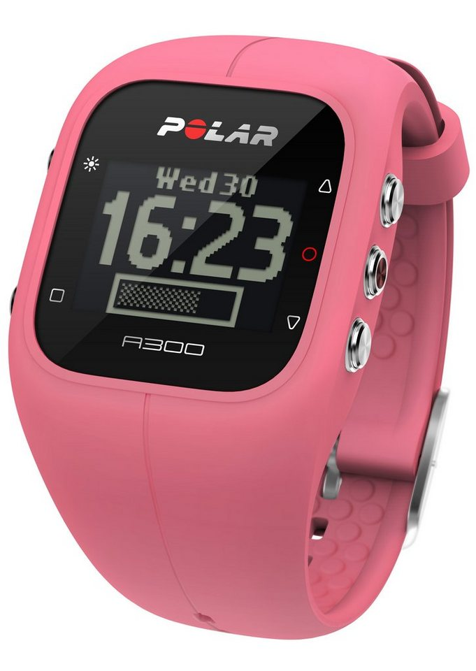 Polar Fitness Activity Tracker, »A300 Sorbet Pink« in pink
