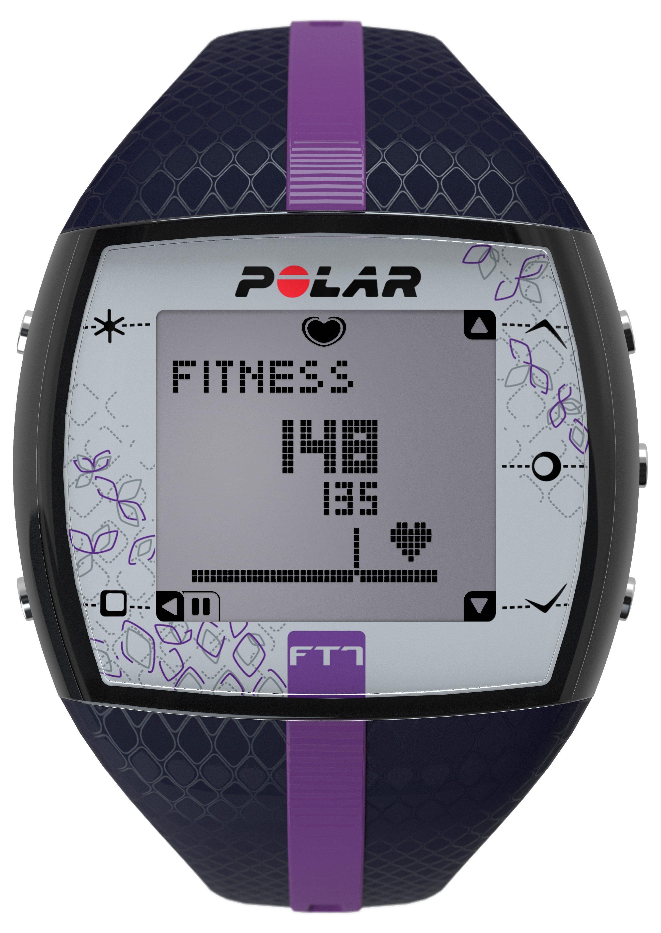 Polar Fitness Pulsuhr, »FT7 Blue Lila«, inkl. Brustgurt