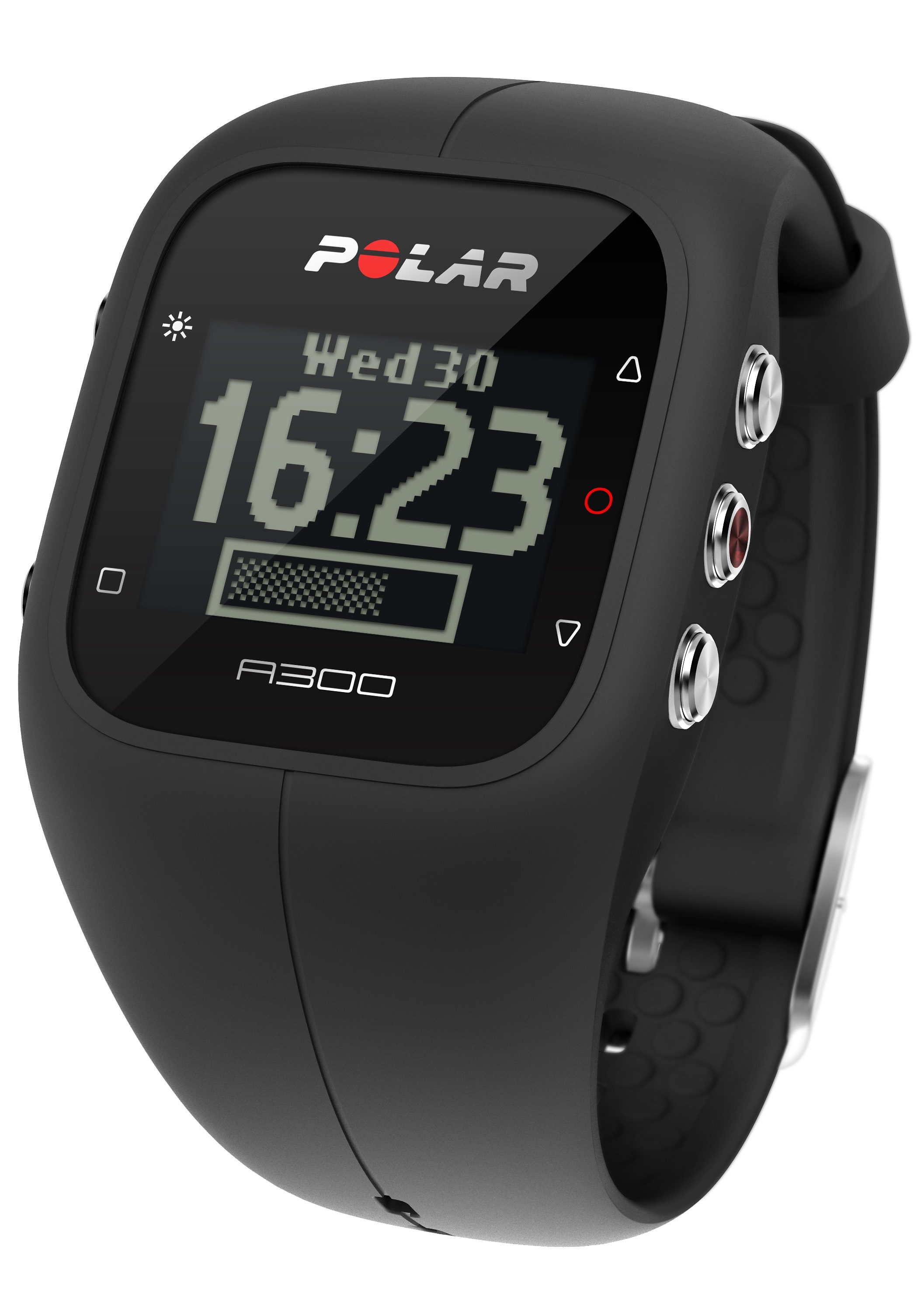 Polar Fitness Activity Tracker, »A300 Charcoal Black HR«, inkl. Brustgurt