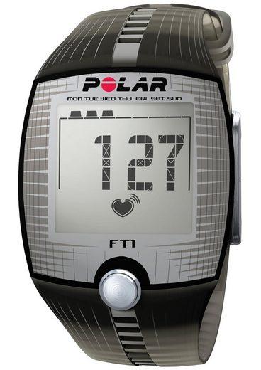 polar fitness pulsuhr ft1 transparent black inkl. Black Bedroom Furniture Sets. Home Design Ideas
