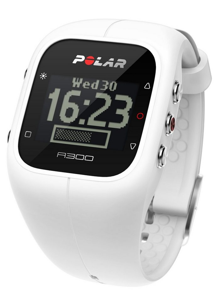 Polar Fitness Activity Tracker, »A300 White HR«, inkl. Brustgurt in weiß