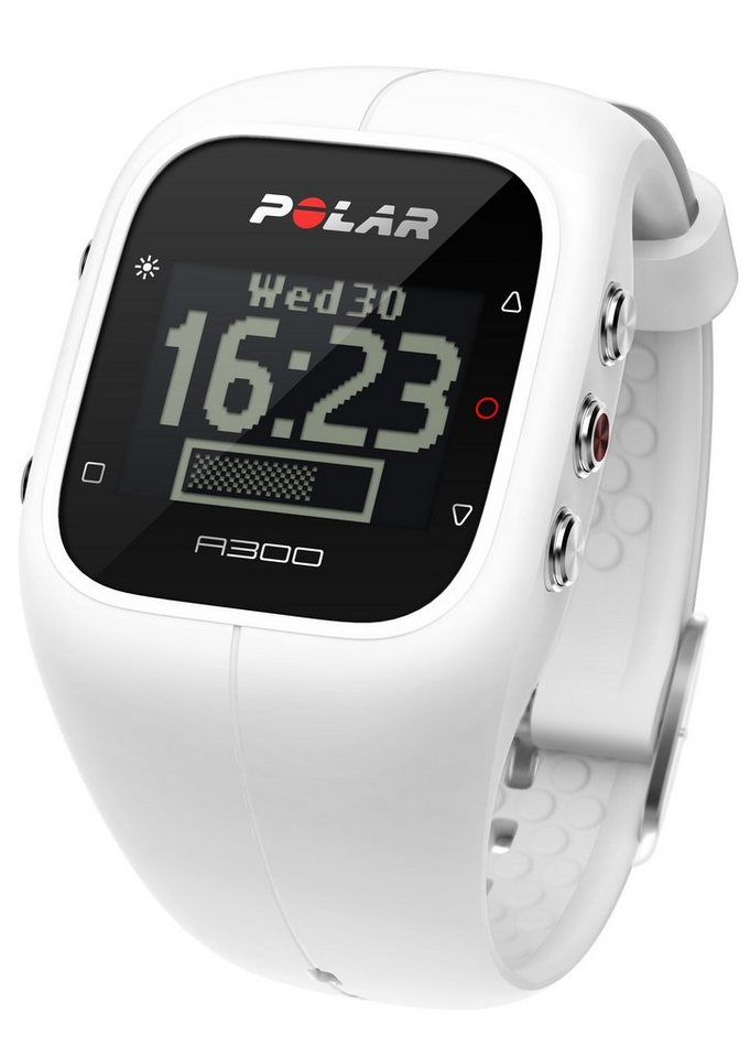 Polar Fitness / Activity Tracker, »A300 Powder White« in weiß
