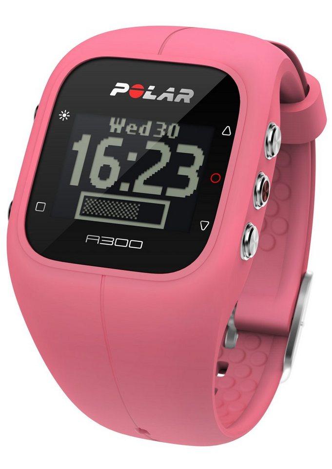 Polar Fitness Activity Tracker, »A300 Sorbet Pink HR«, inkl. Brustgurt in pink