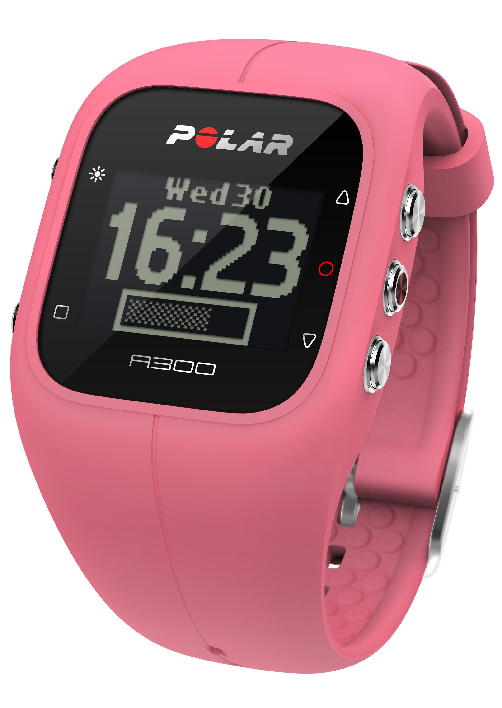 Polar Fitness Activity Tracker, »A300 Sorbet Pink HR«, inkl. Brustgurt