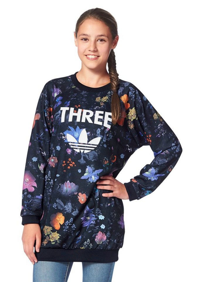 adidas Originals Sweatshirt in Senf-Bunt
