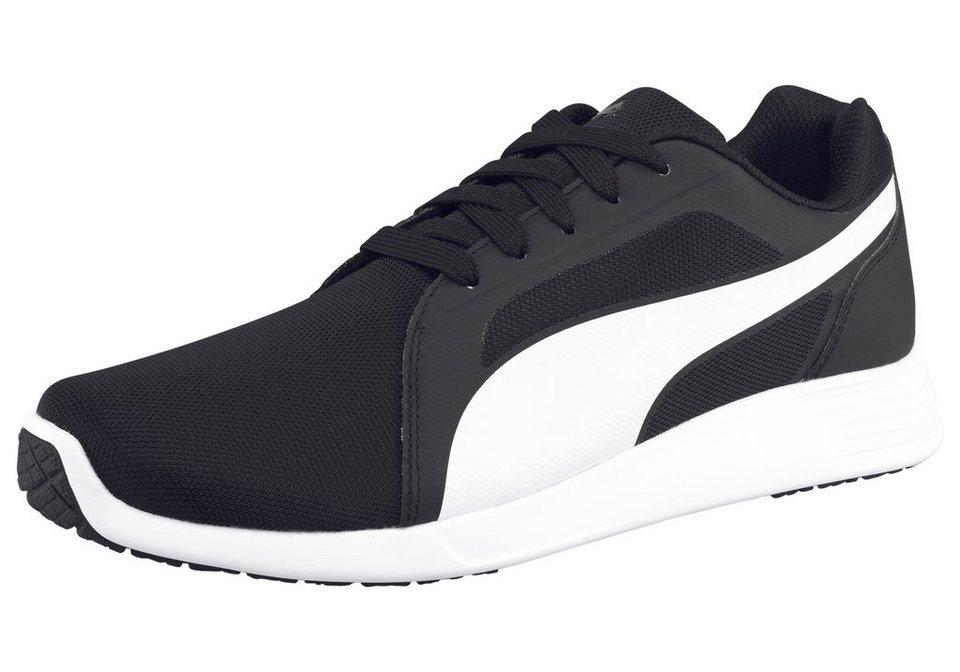 PUMA ST Trainer Evo Sneaker in Schwarz-Weiß