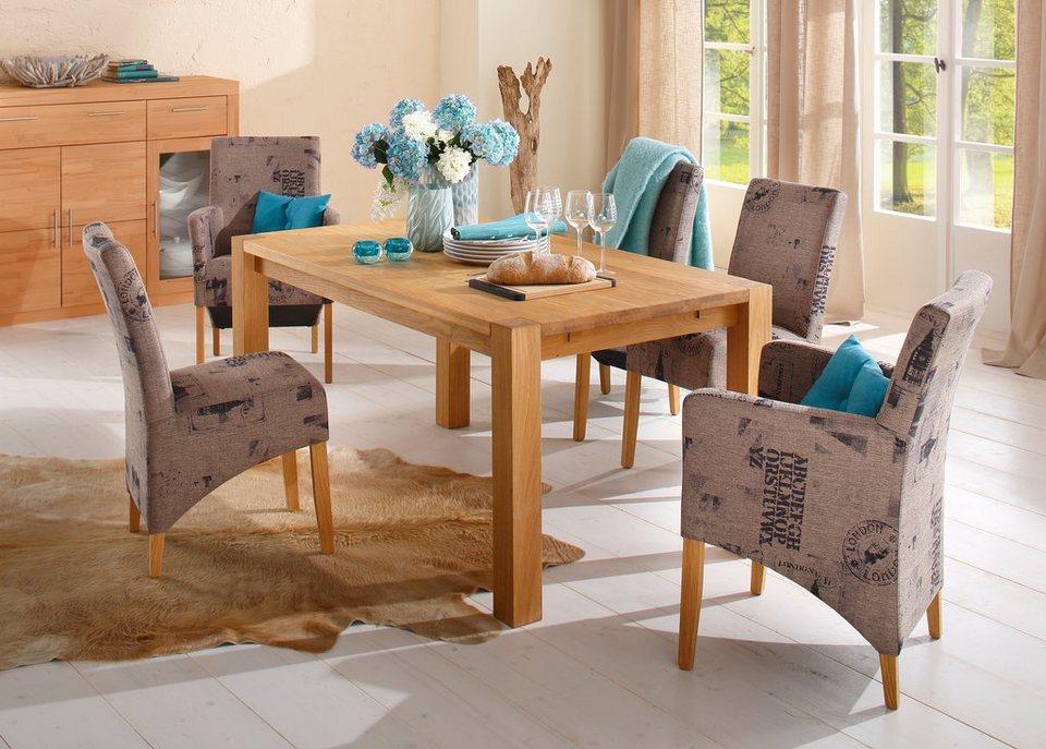home affaire stuhl melissa mit armlehnen kaufen otto. Black Bedroom Furniture Sets. Home Design Ideas