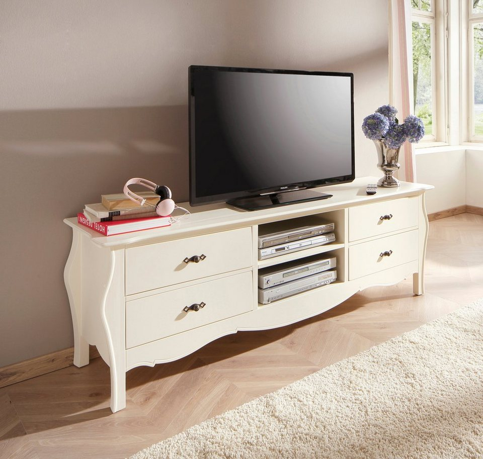 home affaire tv lowboard kristine breite 180 cm online kaufen otto. Black Bedroom Furniture Sets. Home Design Ideas