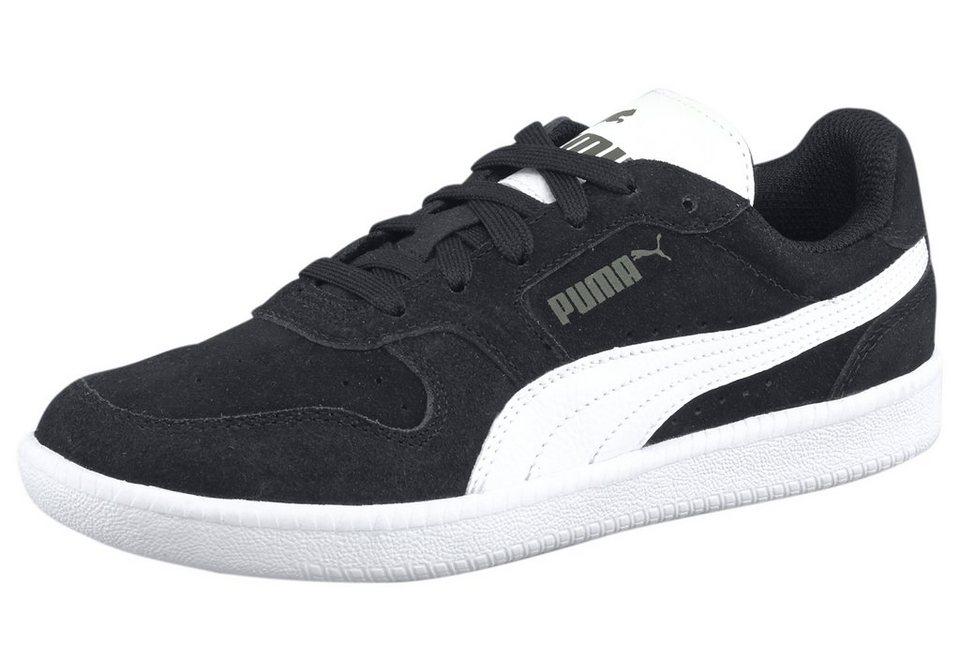 PUMA Icra Trainer SD Jr Sneaker in Schwarz-Weiß