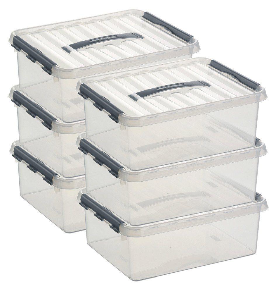 Sunware Aufbewahrungsboxen »12 Liter«, 6er Set
