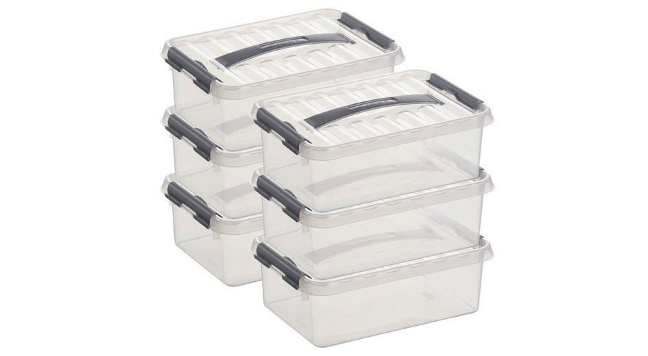 6er Set Aufbewahrungsboxen »4 Liter«