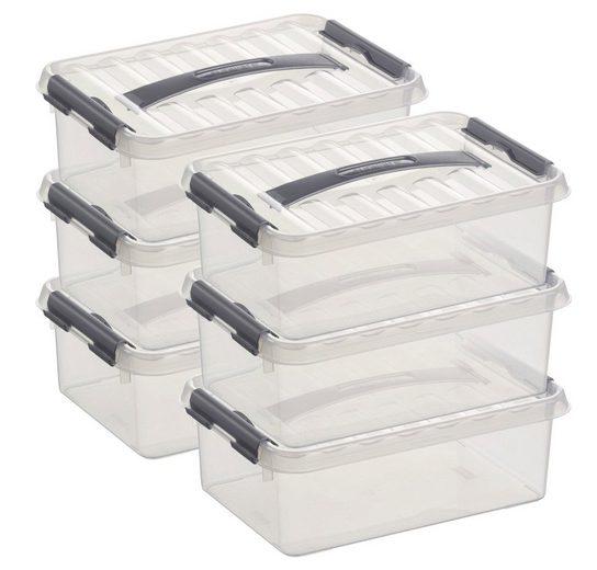 Sunware Aufbewahrungsboxen »4 Liter«, 6er Set
