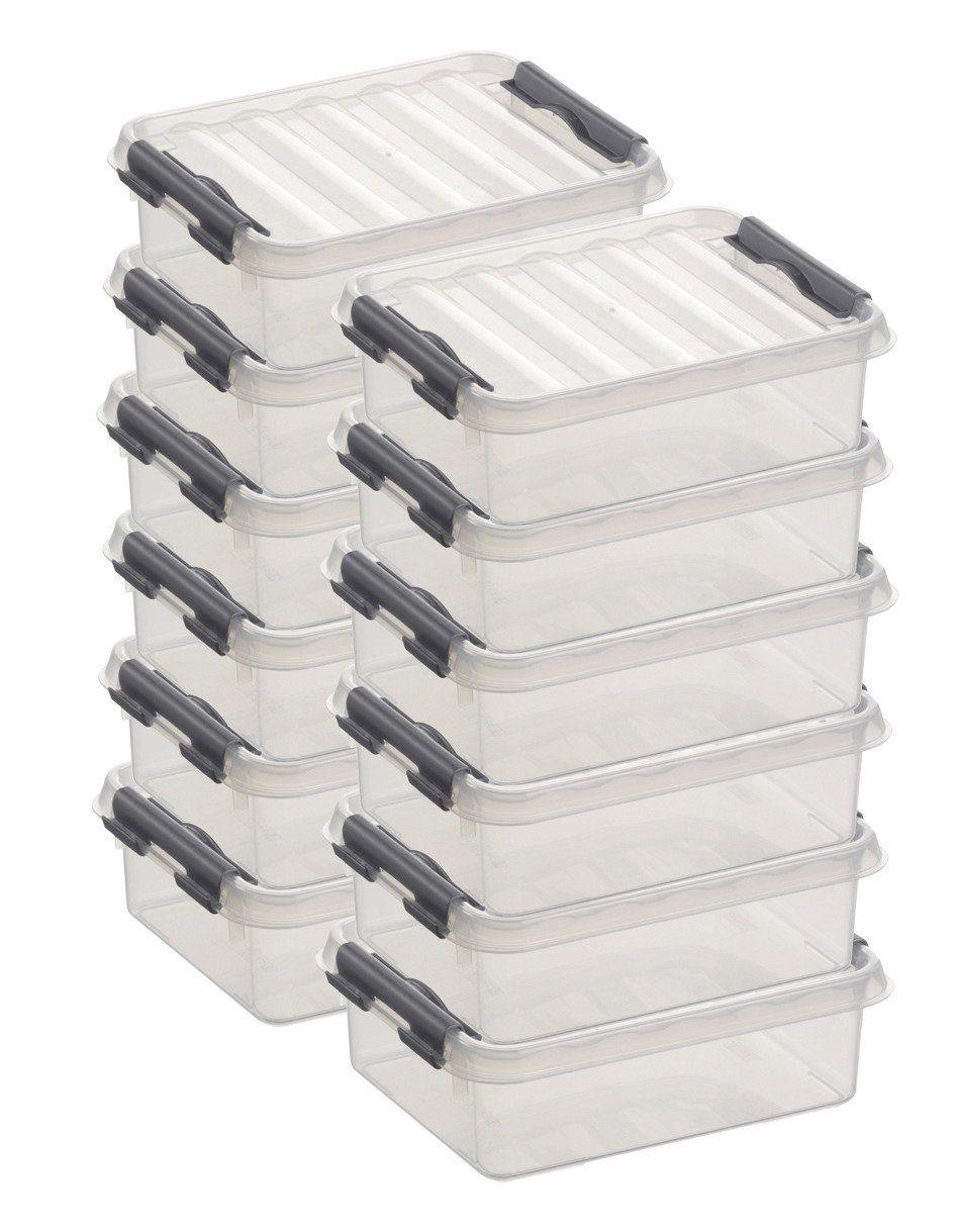 Sunware Aufbewahrungsboxen »1 Liter«, 12er Set