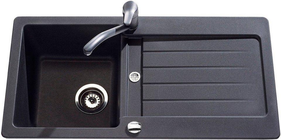domogranitsp le family ohne restebecken 86x43 5 cm online kaufen otto. Black Bedroom Furniture Sets. Home Design Ideas