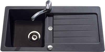 Spülbecken granit braun  Küchenspüle online kaufen » Spüle rund & eckig | OTTO