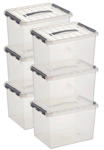 Sunware Aufbewahrungsboxen »22 Liter«, 6er Set