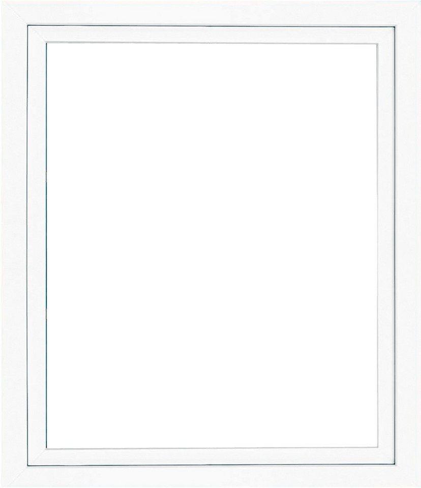 Kunststoff-Fenster, Festmaß »BxH: 100 x 135 cm« einflügelig, weiß in weiß