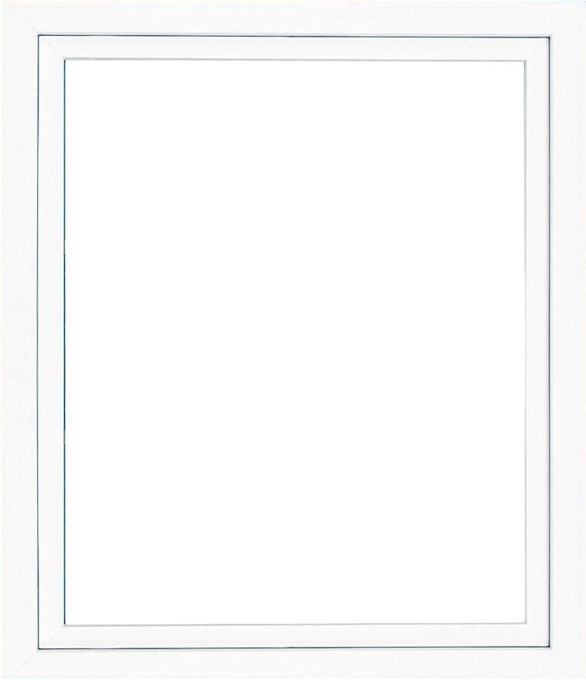 Roro Kunststoff-Fenster, BxH: 75x40 cm, weiß