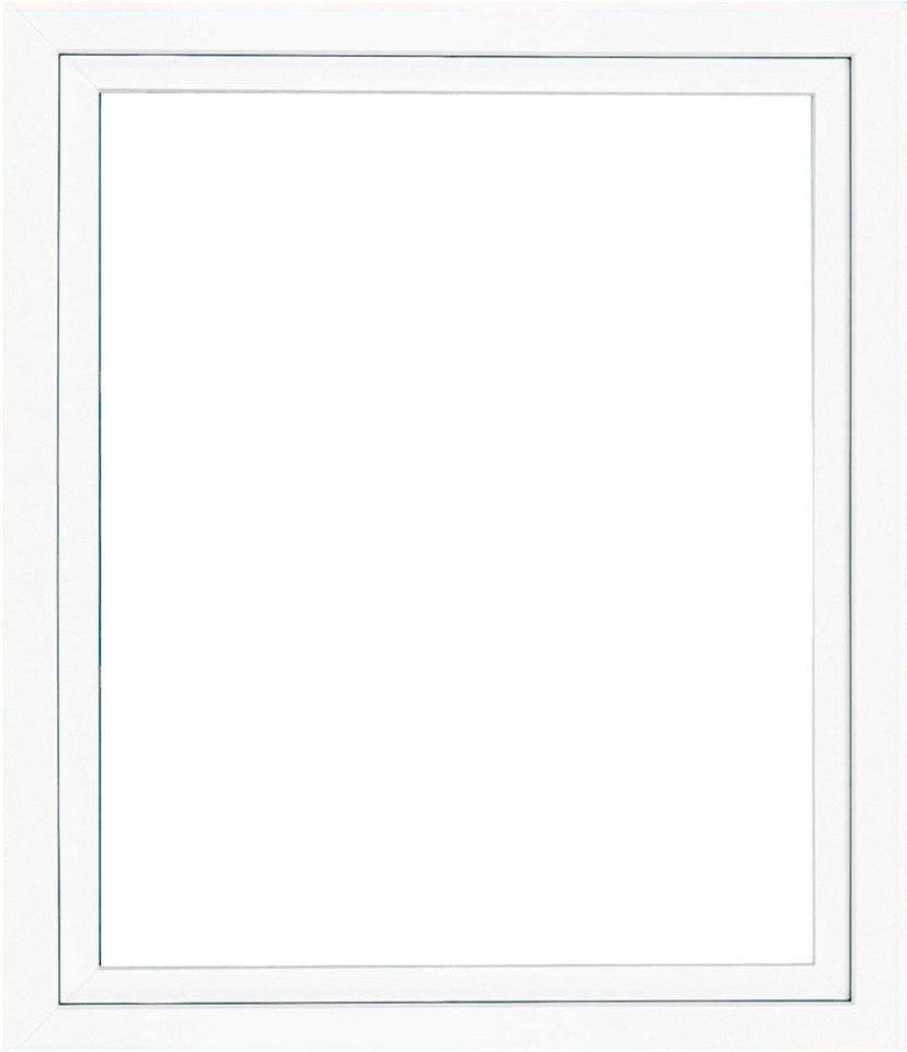 Kunststoff-Fenster, Festmaß »BxH: 80 x 100 cm« einflügelig, weiß in weiß
