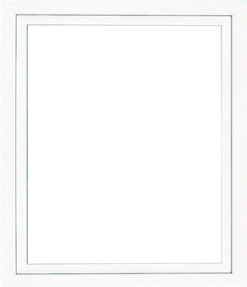 RORO Kunststoff-Fenster »Classic 400«, BxH: 60x60 cm, weiß, in 2 Varianten in weiß