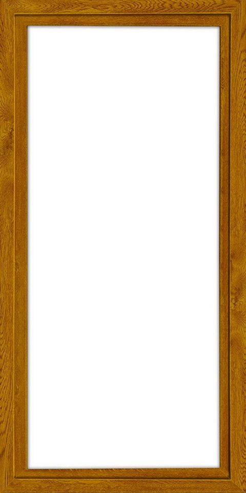 Balkontür, Festmaß »BxH: 90 x 200 cm« einflügelig, eichefarben-dunkel in eichefarben-dunkel
