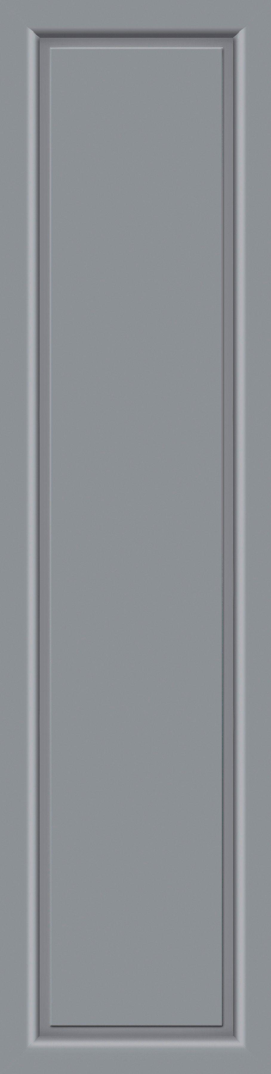 KM MEETH ZAUN GMBH Seitenteile »S04«, für Alu-Haustür, BxH: 50x198 cm, grau