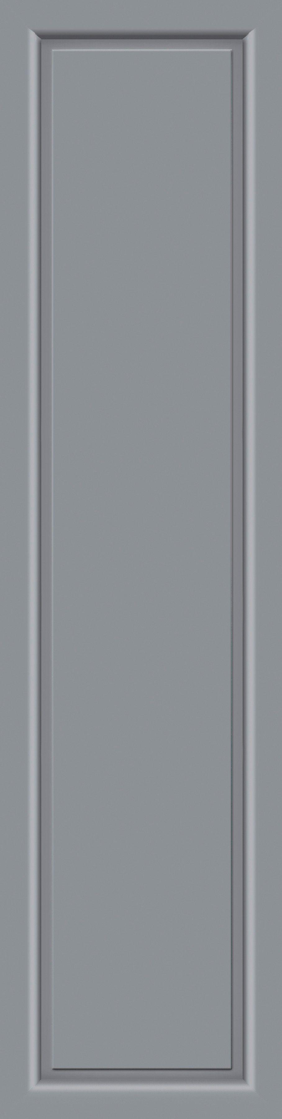 KM MEETH ZAUN GMBH Seitenteile »S04«, für Alu-Haustür, BxH: 60x198 cm, grau