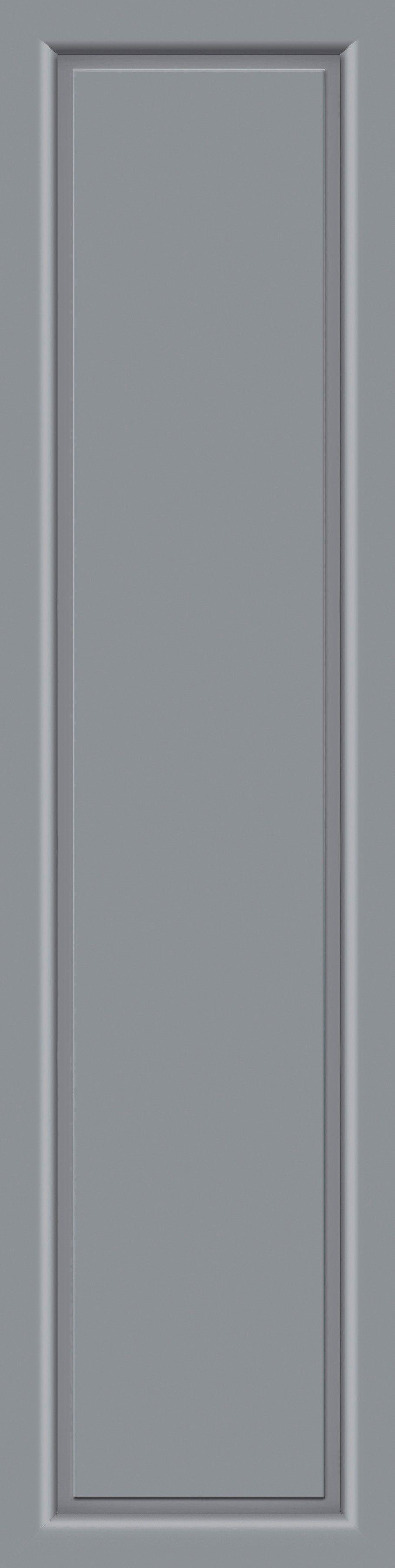 KM MEETH ZAUN GMBH Seitenteile »S04«, für Alu-Haustür, BxH: 60x208 cm, grau